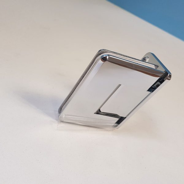 Bevelled 90 Degree Wall Mount Hinge Half Plate 2