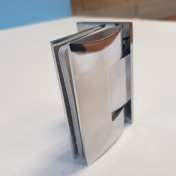 Dome Type 90 Degree Wall Mount Hinge Half Plate 2