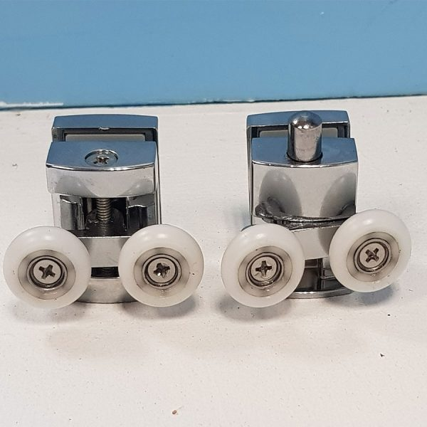 Double Wheels Plastic