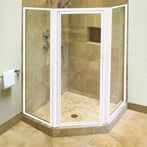 Framed Pentagonal Enclosure