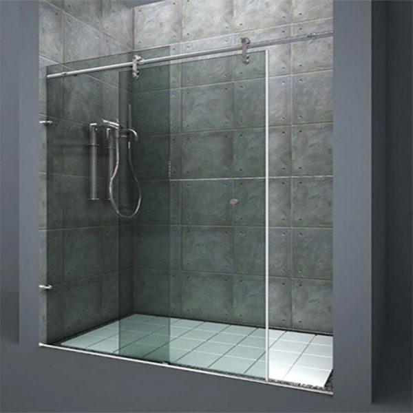 Frameless Sliding Shower
