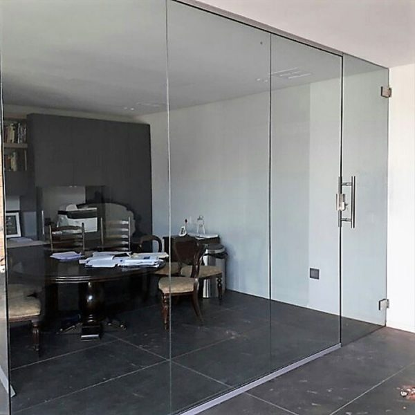Glass Enclosed Study