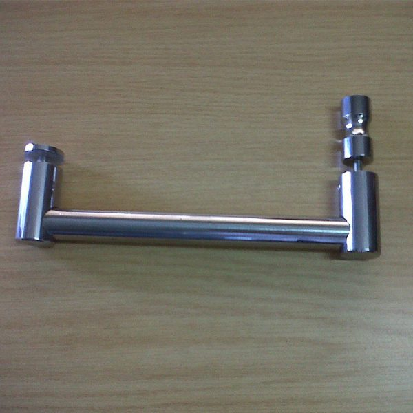 Stainless Steel Towel Rail With Backing Knob